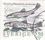 Stamps Sweden -  Barbudas