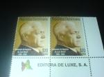 Stamps America - Dominican Republic -  centenario del natalicio del prof Juan Bosch
