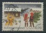 Sellos del Mundo : Europa : Finlandia : S660 - Navidad 1981
