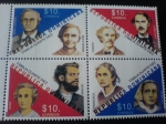 Stamps : America : Dominican_Republic :  familia duarte diez