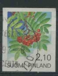 Sellos del Mundo : Europa : Finlandia : S837 - Serbal