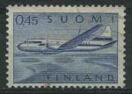 Sellos del Mundo : Europa : Finlandia : SC8 - Convair 440 sobre los lagos
