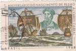 Sellos de America - Brasil -  500 Aniversario del nacimiento de Pedro Alvares Cabral