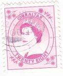 Sellos de Europa - Gibraltar -  Isabel II