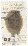Stamps Mexico -  15 de mayo Dia del maestro