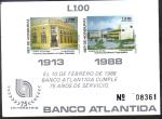 Sellos del Mundo : America : Honduras : Aniversario Banco Atlántida
