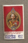 Stamps Asia - Thailand -  Guardaespaldas real