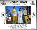 Sellos del Mundo : America : Honduras : Exposicion Filatelica Internacional de España América y Portugal