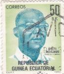Sellos de Africa - Guinea Ecuatorial -  Hipolito Micha Eworo- martir de la libertad
