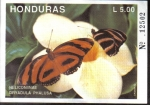 Sellos de America - Honduras -  Mariposas