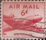 Stamps : America : United_States :  6 centavos 1949