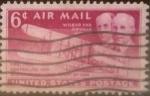 Stamps United States -  Intercambio 0,20 usd 6 centavos 1949