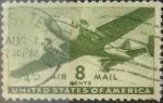 Sellos de America - Estados Unidos -  Intercambio 0,20 usd 8 centavos 1941