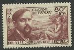 Stamps France -  Debussy