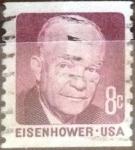 Stamps : America : United_States :  8 centavos 1970