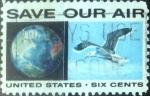Stamps United States -  Intercambio 0,20 usd 6 centavos 1970