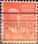 Sellos de America - Estados Unidos -  Intercambio 0,20 usd 6 centavos 1938