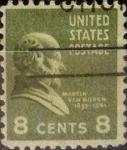 Sellos de America - Estados Unidos -  Intercambio 0,20 usd 8 centavos 1938