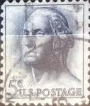 Sellos de America - Estados Unidos -  Intercambio 0,20 usd 5 centavos 1962