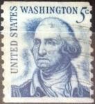 Stamps : America : United_States :  5 centavos 1966