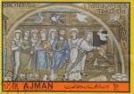 Stamps United Arab Emirates -  Pinturas religiosas