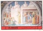Stamps United Arab Emirates -  beato Angelico - pintura religiosa