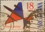 Sellos de America - Argentina -  Intercambio 0,35 usd 18 pesos 1963