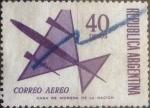 Sellos del Mundo : America : Argentina : Intercambio mal 0,30 usd 40 pesos 1969