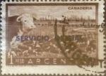 Sellos de America - Argentina -  Intercambio 0,20 usd 1 peso 1955