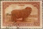 Sellos de America - Argentina -  Intercambio 0,20 usd 30 centavos 1936