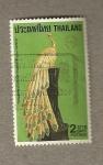 Stamps Asia - Thailand -  Joya Pavo Real
