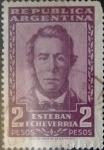Sellos del Mundo : America : Argentina : Intercambio 0,20 usd 2 pesos 1957