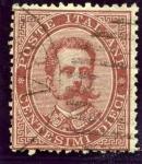 Stamps Europe - Italy -  Humberto I