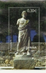 Stamps of the world : Spain :  ARQUEOLOGIA MEDITERRANEA. ASCLEPIOS. EDIFIL SH 4351A