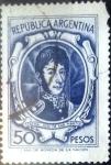 Sellos del Mundo : America : Argentina : Intercambio 0,40 usd 50 pesos 1965