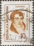Sellos de America - Argentina -  Intercambio 0,20 usd 10 centavos 1973