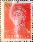 Sellos del Mundo : America : Argentina : Intercambio 0,20 usd 20 centavos 1954