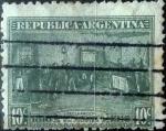 Sellos de America - Argentina -  Intercambio daxc 0,25 usd 10 centavos 1916