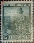 Sellos del Mundo : America : Argentina : 15 centavos 1901