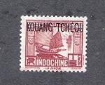 Stamps China -  Kwang Tcheou: Junco