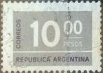 Sellos del Mundo : America : Argentina : Intercambio 0,20 usd 10 pesos 1976