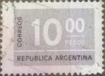 Sellos de America - Argentina -  Intercambio 0,20 usd 10 pesos 1976