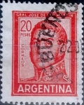 Sellos del Mundo : America : Argentina : Intercambio 0,20 usd 20 pesos 1967