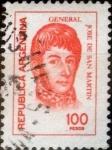 Sellos de America - Argentina -  Intercambio 0,25 usd 100 pesos 1976