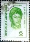 Stamps : America : Argentina :  Intercambio 0,20 usd 6 pesos 1974