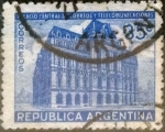 Sellos de America - Argentina -  Intercambio 0,20 usd 35 centavos 1945