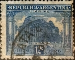Sellos del Mundo : America : Argentina : Intercambio daxc 0,40 usd 12 centavos 1926