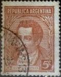 Sellos de America - Argentina -  Intercambio 0,20 usd 5 centavos 1935