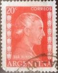 Sellos del Mundo : America : Argentina : 20 centavos 1952