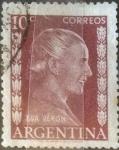 Sellos del Mundo : America : Argentina : Intercambio 0,20 usd 10 centavos 1952